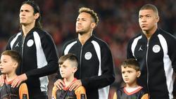 Neymar, Mbappe und Cavani: Das Pariser Sturm-Trio