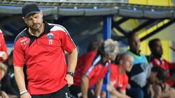 Muss beim FC Paderborn derzeit passen: Trainer SteffenBaumgart