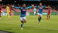 Insigne dio el triunfo al Nápoles en el tiempo extra. (Foto: Getty)