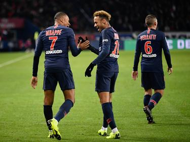 Mbappé y Neymar fueron los goleadores locales. (Foto: Imago)