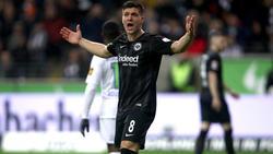 Luka Jovic von Eintracht Frankfurt konnte den FC Barcelona wohl nicht überzeugen