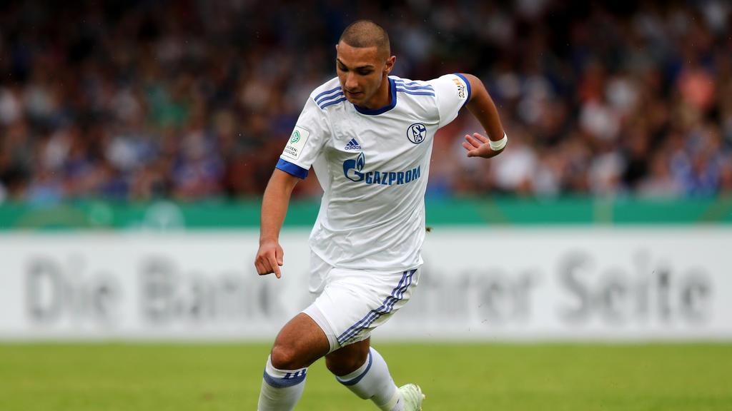 Ahmet Kutucu erzielte für die U19 des FC Schalke 04 zwei Tore