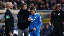 Hoffenheims Andrej Kramaric reagierte unglücklich über seine Auswechslung im Spiel gegen Borussia Mönchengladbach