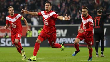 Matchwinner auf Seiten der Fortuna: Kaan Ayhan