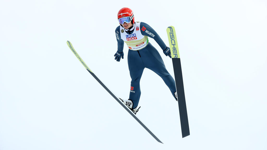 Katharina Althaus belegte den dritten Platz in Oslo