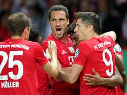Bayern holt das Double