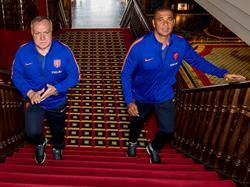 Dick Advocaat (l.) ist neuer Bondscoach, Ruud Gullit (r.) sein Assistent
