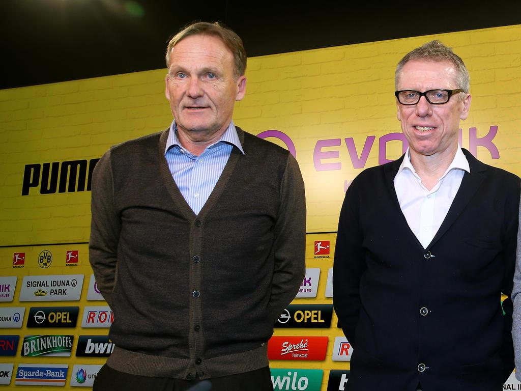 BVB-Boss Hans-Joachim Watzke hat sich zum Aus von Peter Stöger geäußert