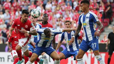 Hertha BSC verliert Kellerduell beim FSV Mainz 05