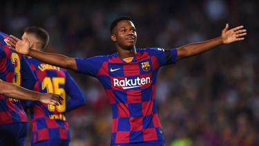 Der FC Barcelona feierte einen deutlichen Sieg gegen Valencia