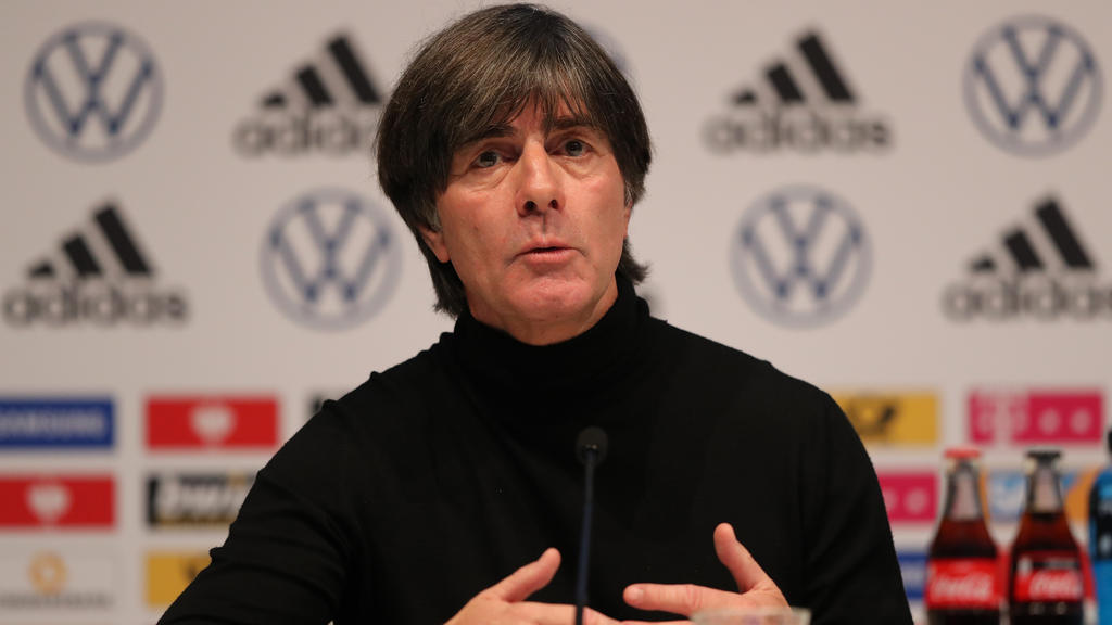 Joachim Löw will mit der Fußball-Nationalmannschaft zur EURO 2020