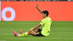 BVB-Profi Mahmoud Dahoud musste in der Champions League ausgewechselt werden