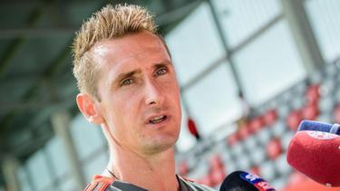 Miroslav Klose bemängelt eine fehlende Achse im DFB-Team