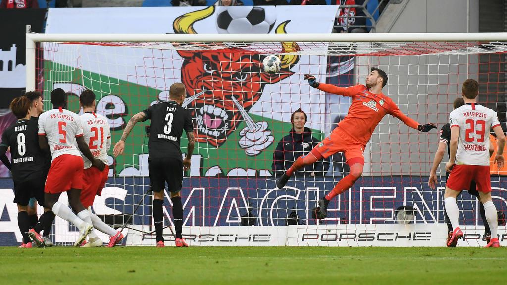 RB Leipzig eroberte gegen Bremen die Tabellenspitze