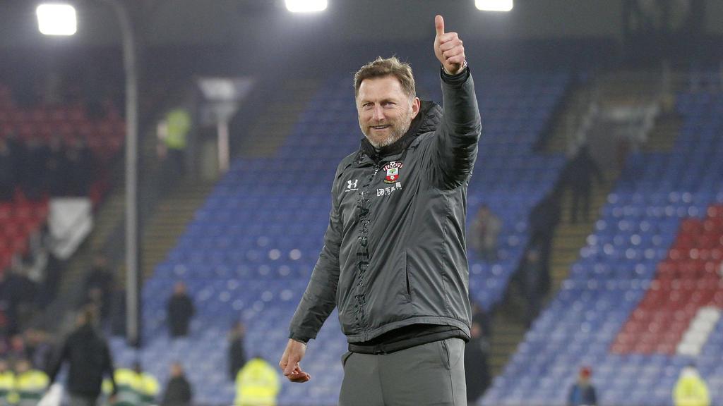Steht vor einer Vertragsverlängerung beim FC Southampton: Trainer Ralph Hasenhüttl