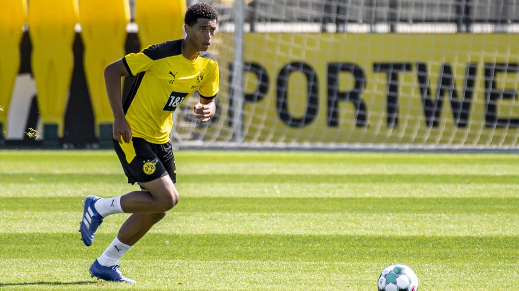 Jude Belligham wechselte im Sommer zum BVB
