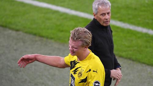 BVB-Coach Favre nahm Erling Haaland in der entscheidenden Phase vom Feld