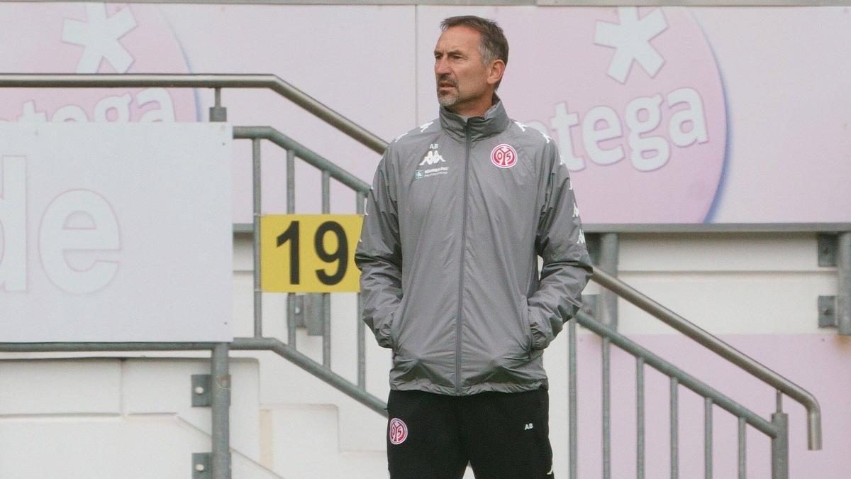 Arbeitet sein Aus als Coach von Mainz 05 noch auf: Achim Beierlorzer