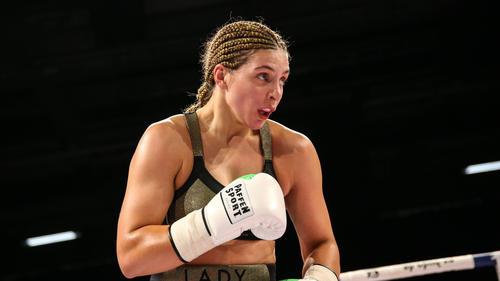 Christina Hammer ist mehrmalige Box-Weltmeisterin
