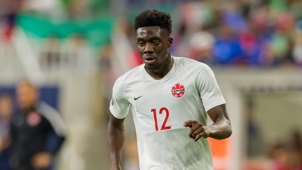 Alphono Davies vom FC Bayern brillierte im Trikot des kanadischen Nationalteams