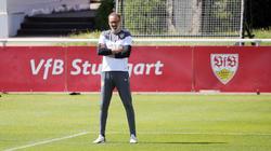 Pellegrino Matarazzo steht mit den Stuttgartern vorm Saisonfinale