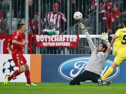 Ribéry erzielt das wichtige 1:0