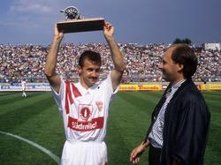 Torschützenkönig 1991/1992: Fritz Walter
