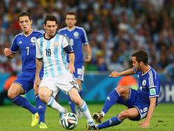 Mit vereinten Kräften gegen Messi