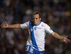 Cuauhtémoc Blanco mit 42 in seiner letzten Saison als Profi