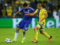 Diego Costa schirmt ab