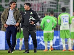 Bruno Labbadia war nach dem Heimspiel gegen Augsburg enttäuscht