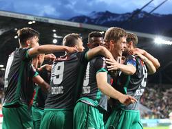 Wacker Innsbruck jubelt