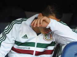 Chicharito ist der Topstürmer der Mexikaner