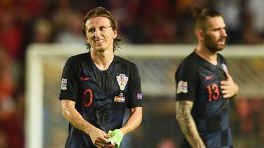 Weltfußballer Luka Modric ist nach der WM als Kroatiens Spielmacher gefordert
