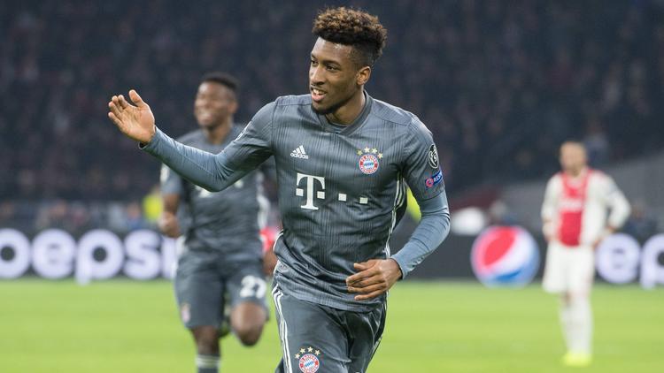 Kingsley Coman ist einer der großen Hoffnungsträger beim FC Bayern