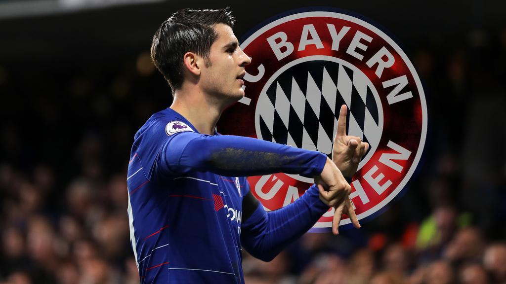 Álvaro Morata ein Thema beim FC Bayern?