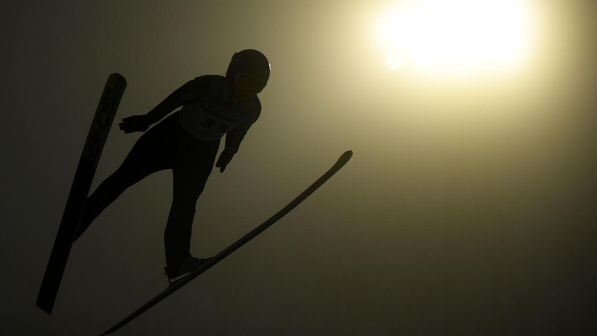 Die deutschen Skispringerinnen feierten in Slowenien einen Mannschaftssieg