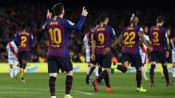 Lionel Messi trifft und trifft und trifft