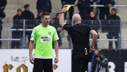 Daniel Frahn vom Chemnitzer FC wurde gesperrt