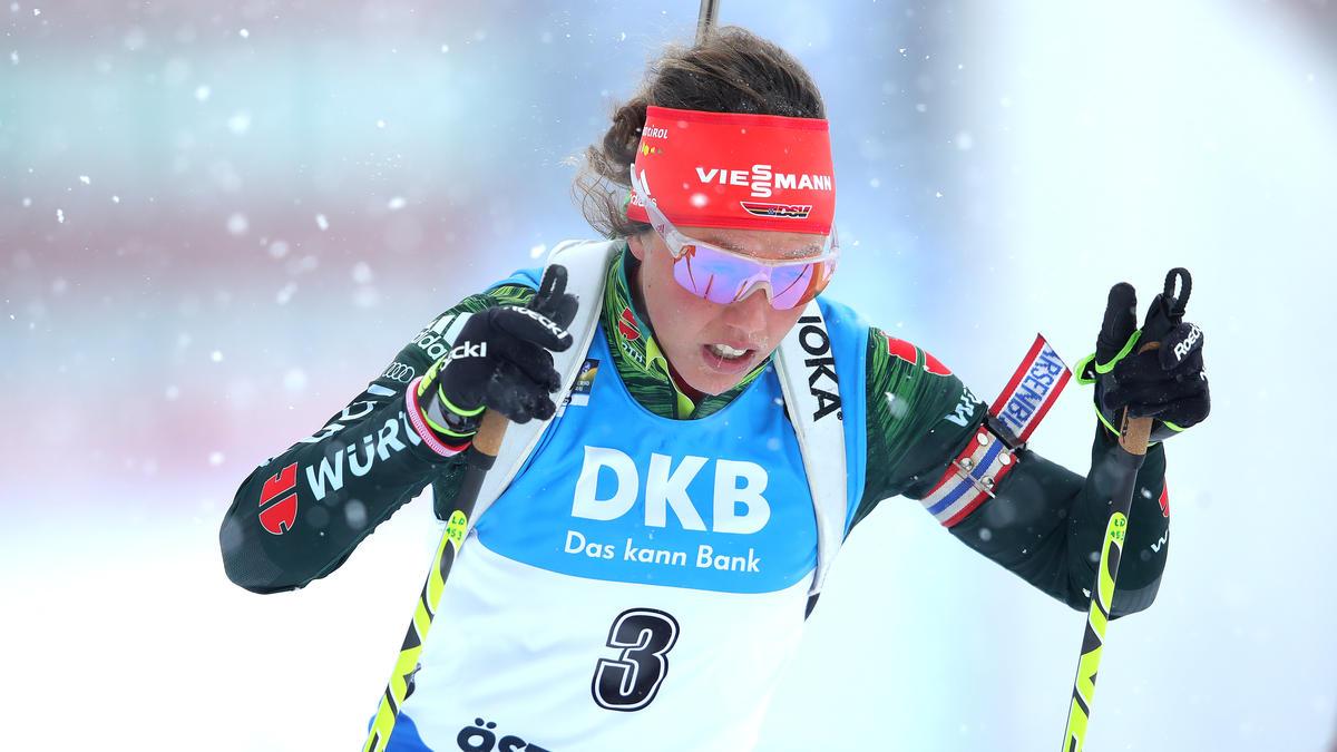 Spendete ihren früheren Teamkolleginnen Trost: Laura Dahlmeier