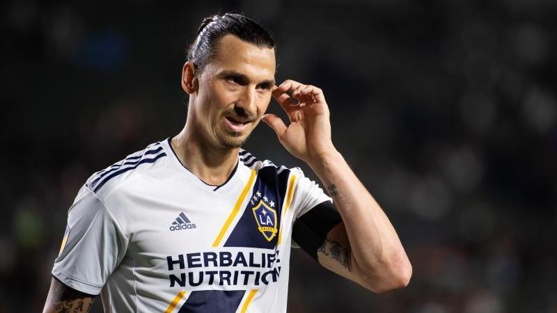 Zlatan Ibrahimovic von LA Galaxy wurde von der MLS für zwei Spiele gesperrt