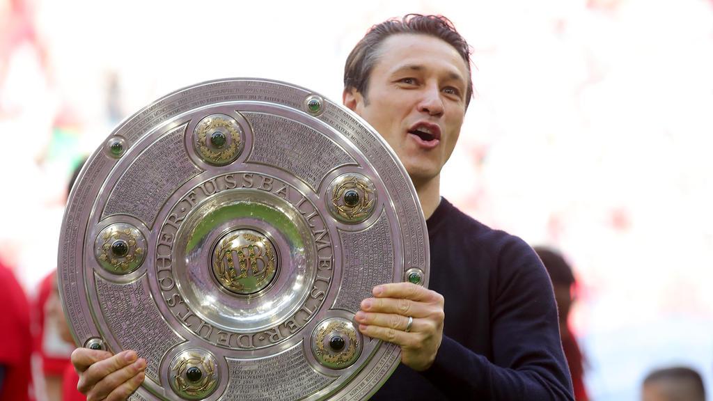 Niko Kovac feierte die Meisterschaft mit dem FC Bayern München