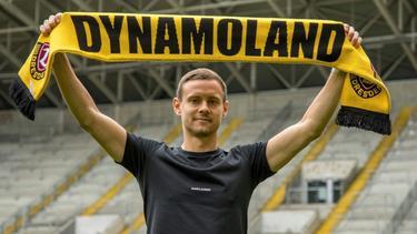 Dynamo Dresden verpflichtet Chris Löwe