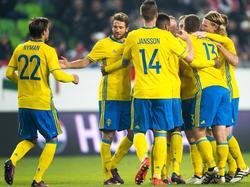 Suecia suma 10 puntos en el grupo A de clasificación. (Foto: Imago)