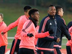 David Alaba und Jérôme Boateng werden den Bayern im Pokal fehlen
