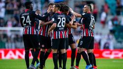 Eintracht Frankfurt setzte sich in der EL-Quali im Hinspiel beim FC Flora durch