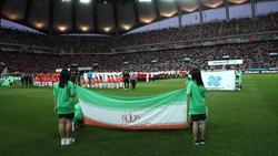 Weibliche Fans gibt es bei den Spielen des Iran lediglich im Ausland