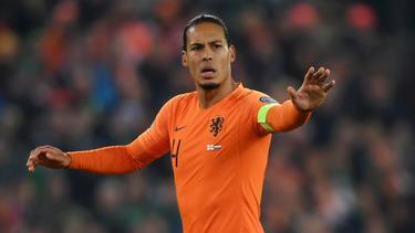 Virgil van Dijk fehlt Holland im Finale um den Gruppensieg