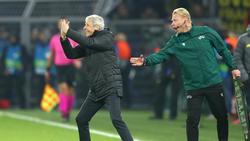Lucien Favre gestikulierte beim BVB-Sieg gegen Inter wild am Spielfeldrand