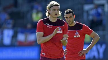 Der 1. FC Köln würde Sebastiaan Bornauw (vorne) und Ellyes Skhiri bei einem passenden Angebot abgeben